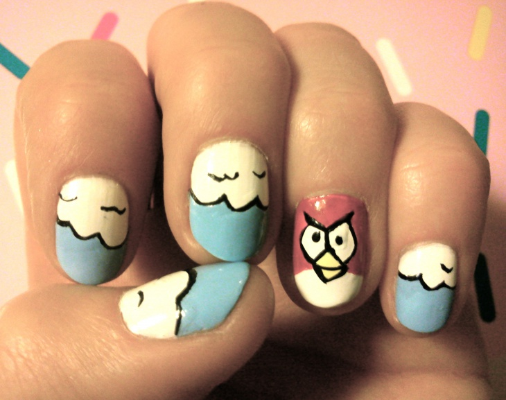 19+ Angry Birds Nail Art Designs, Ideas | Design Trends - Premium ...