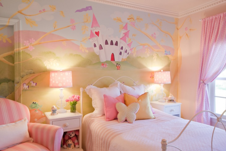 Baby Girl Bedroom Wall Decals Idea