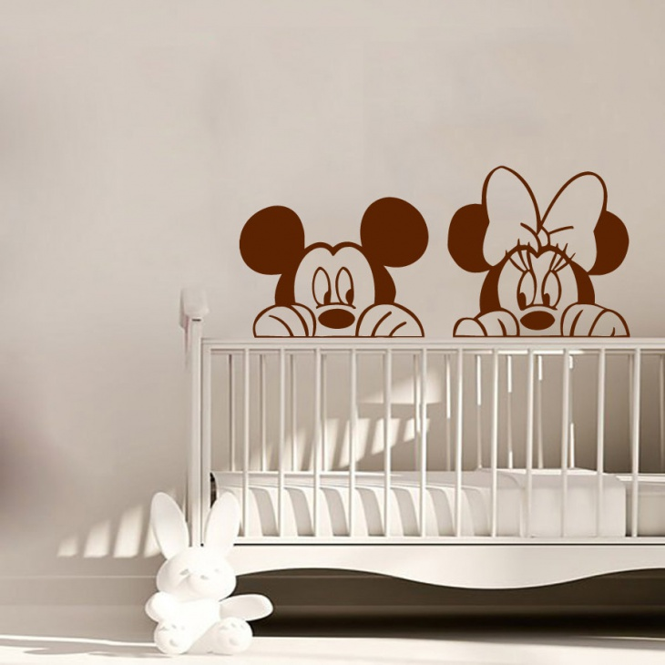 Nursery Room Wall Decals Design