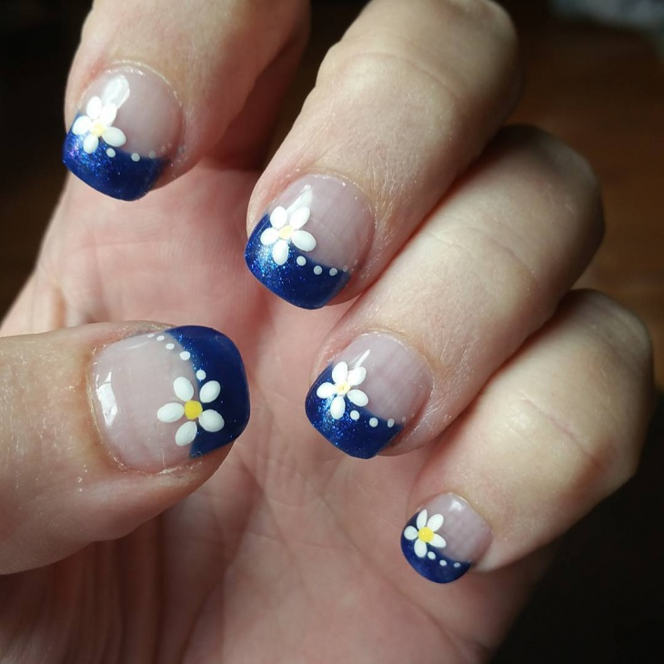 hawaiian nail art for short nails