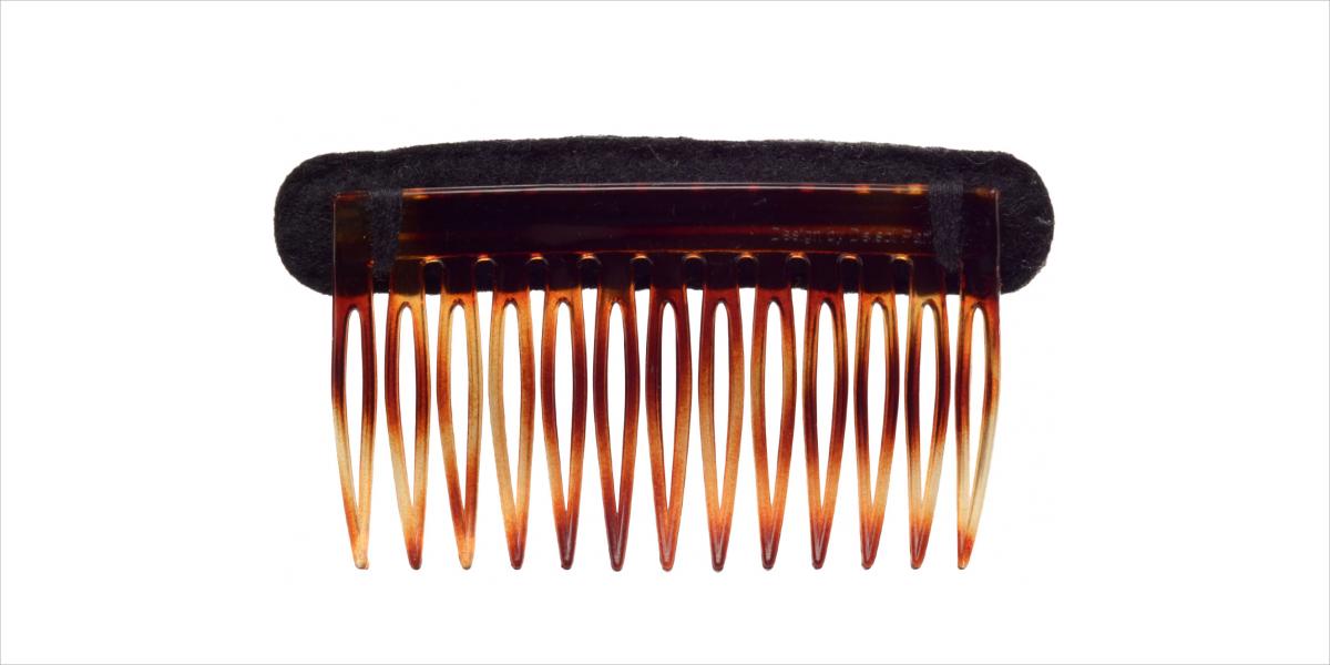 olympia le tan hand embroidered felt haircomb1