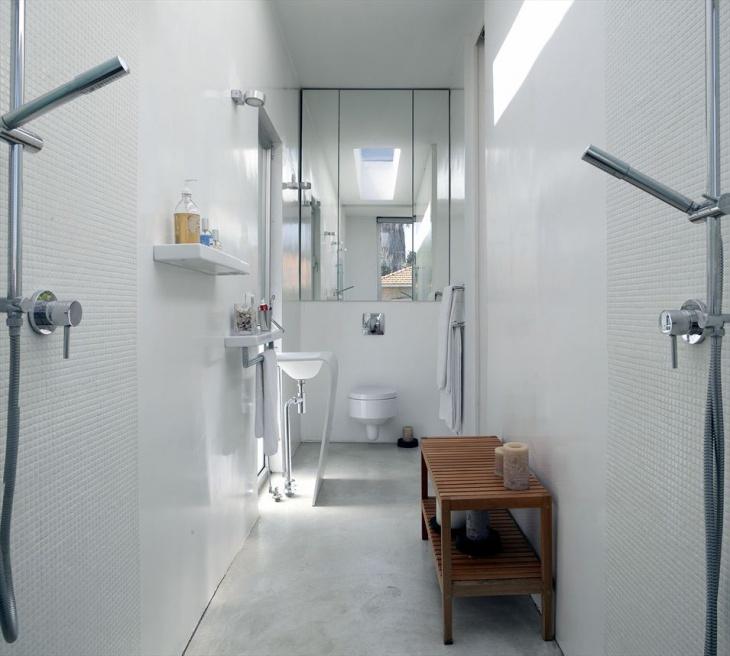 long rectangular bathroom design - Rectangular Bathroom Designs