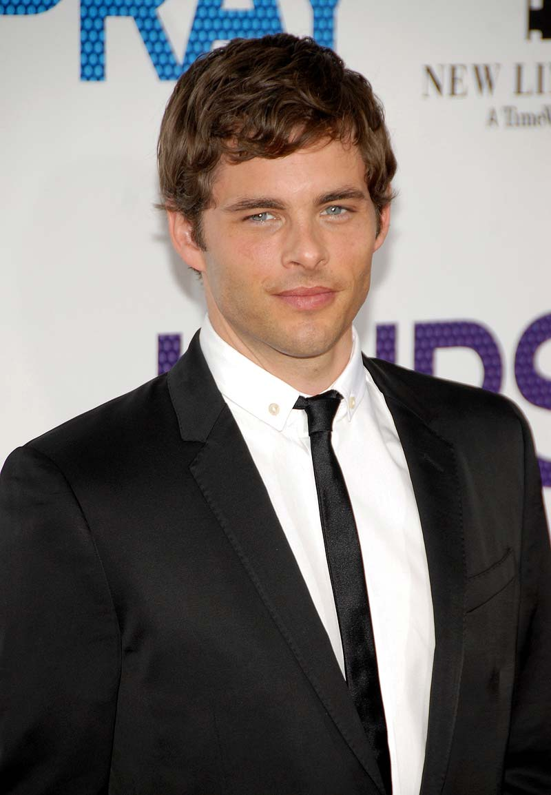 james marsden short wavy hair