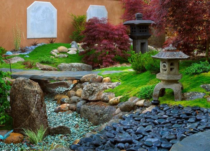 Japanese Moss Garden Design