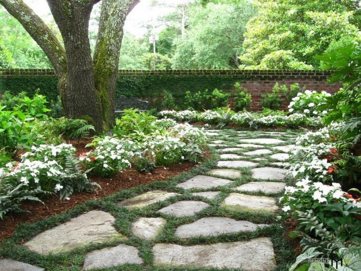 Moss Floral Garden