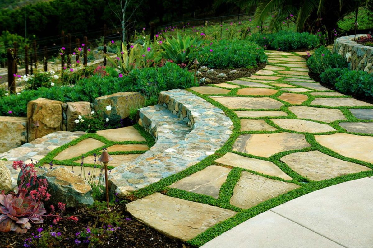 18 moss garden designs ideas design trends premium for Design ideas for your garden