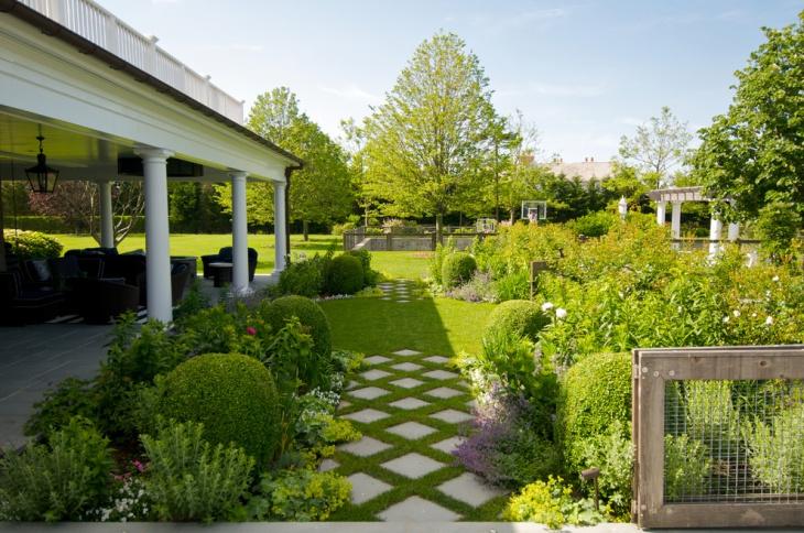 Vintage Moss Garden