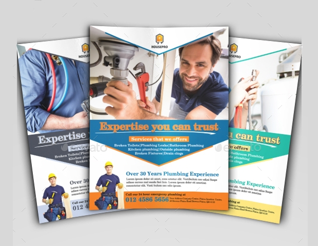 High Resolution Handyman Service Flyer