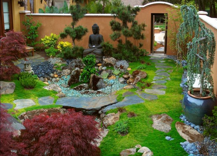 Beautiful Moss Garden
