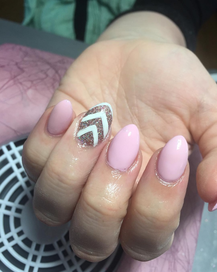 cool caviar nail art idea