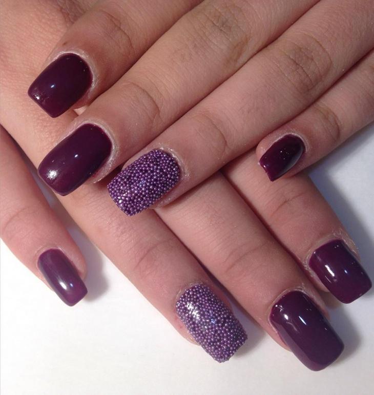 bright dope nail art idea