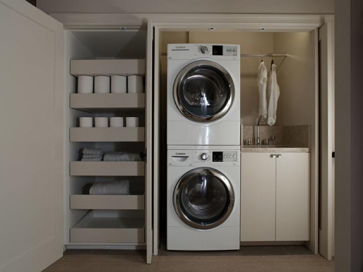 Laundry Closet Countertop