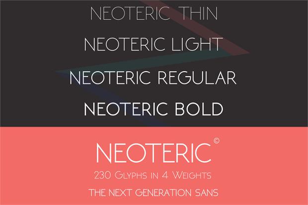 Regular Letterhead Font