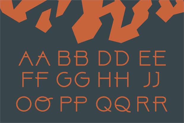 Free letterhead Font