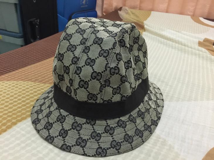 vintage monogram hat
