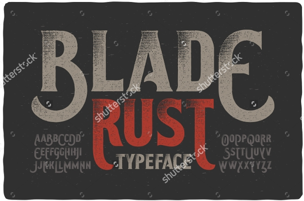 Letterhead Font Design