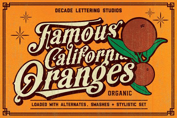 Modern Victorian Letterhead Font