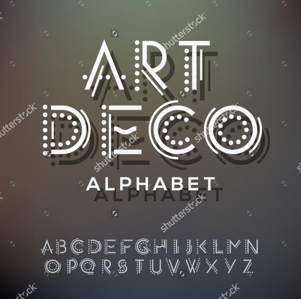 Art Letterhead Font