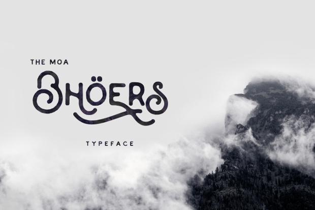 Letterhead Modern Font
