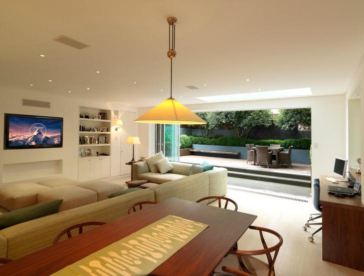 stylish outdoor ceiling light