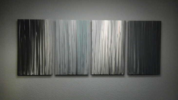Metal Bamboo Wall Art