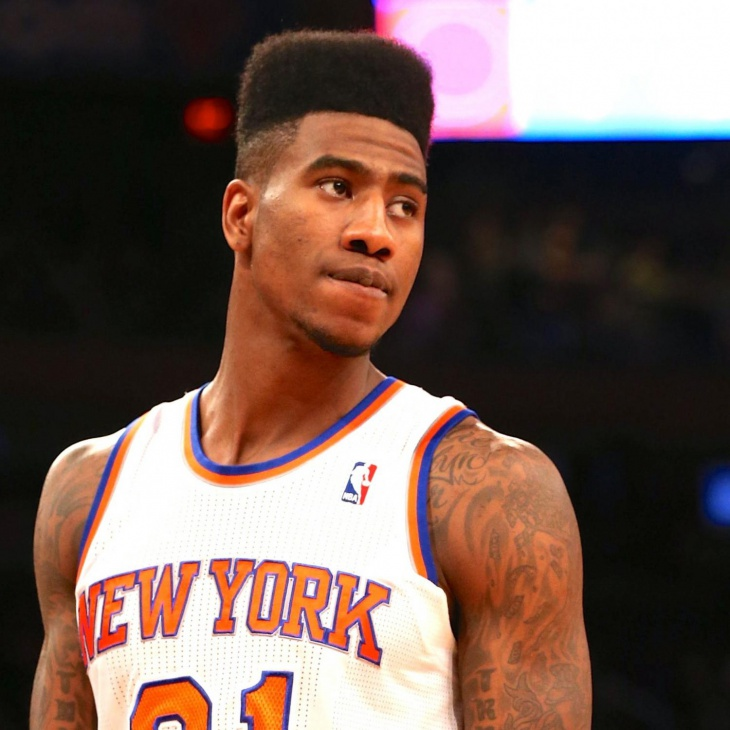 iman shumpert blowout taper fade