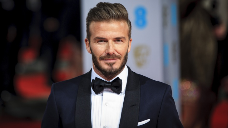 david beckham blowout fade hair