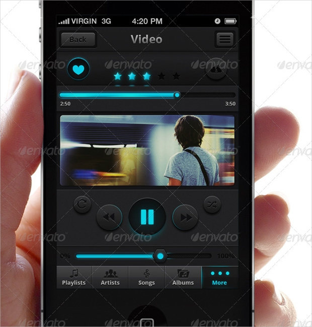 Music & Video App for IPhone