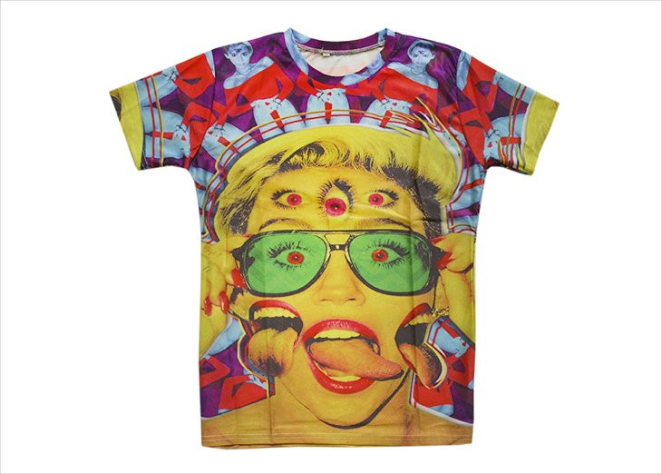 3d print psychedelic t shirt