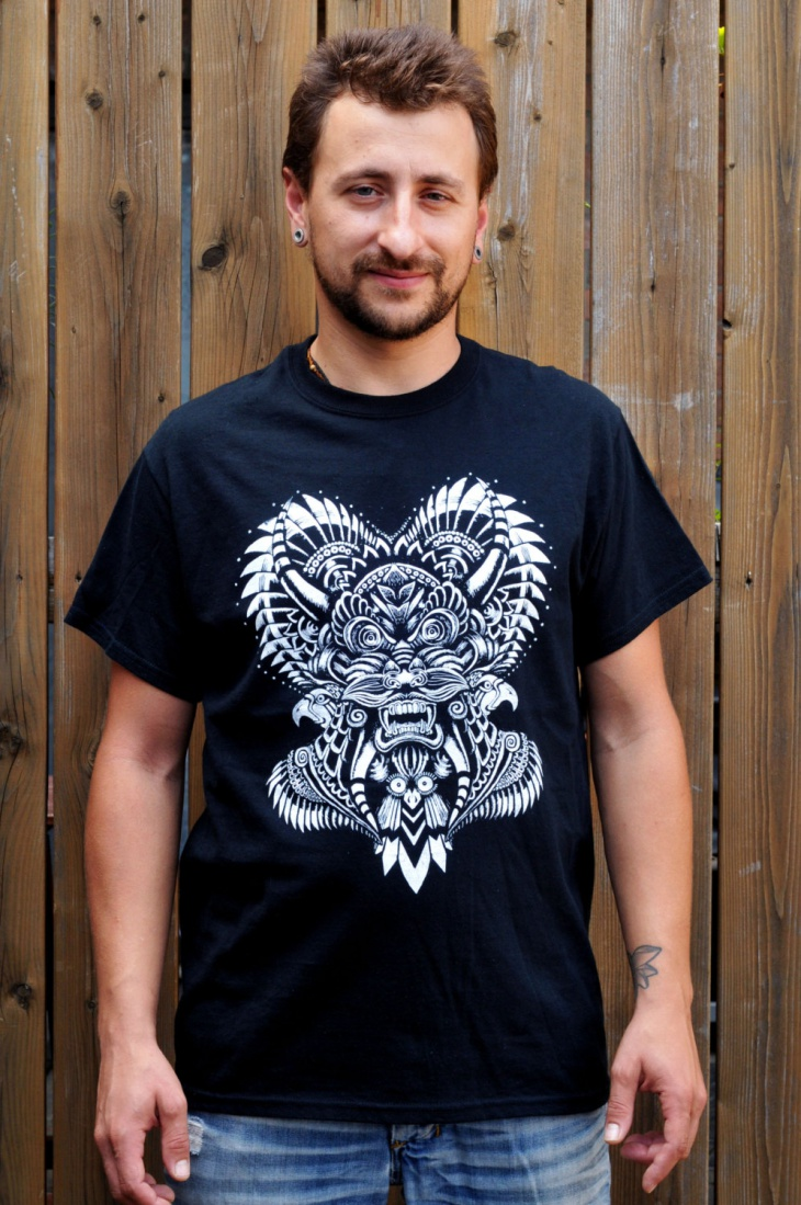 psychedelic art t shirt