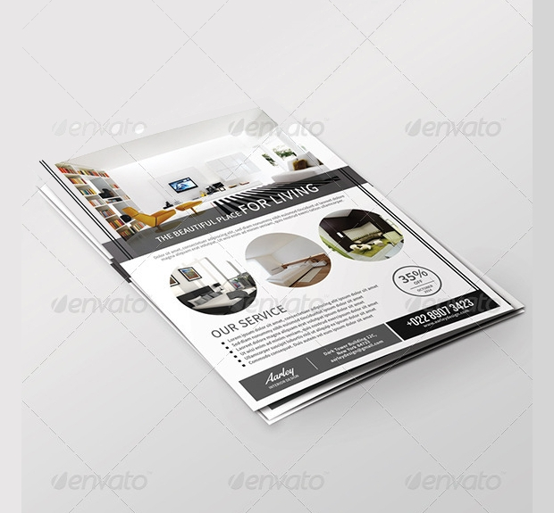 Customizable Interior Design Flyer