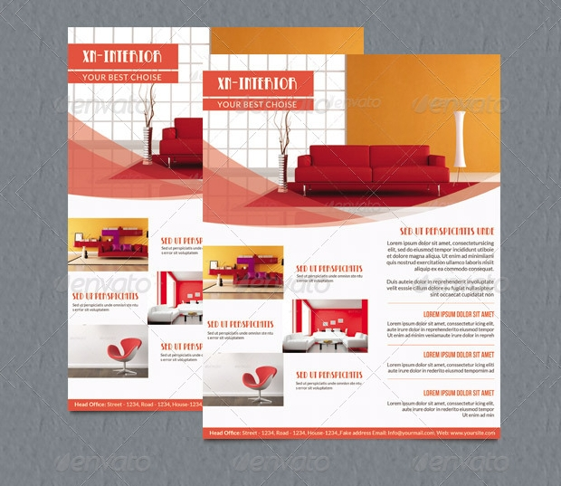 Minimal Interior Design Flyer