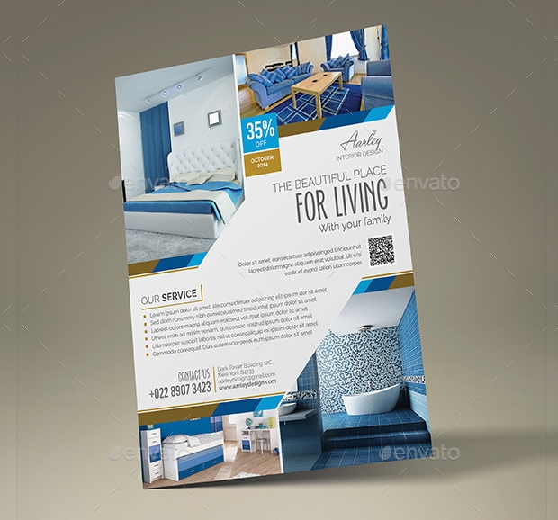 Interior Design Flyer Designs And Templates Download  Design