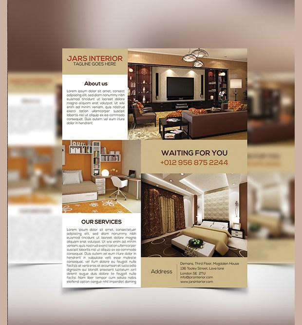 Creative Interior Design Flyer