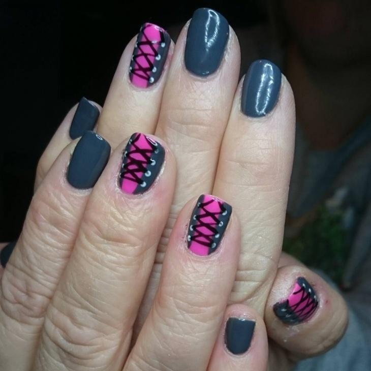corset gel nails idea