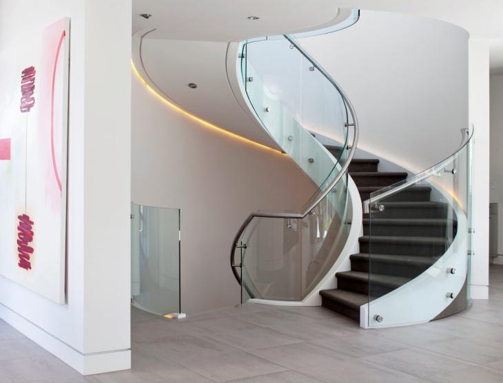 modern spiral staircase idea