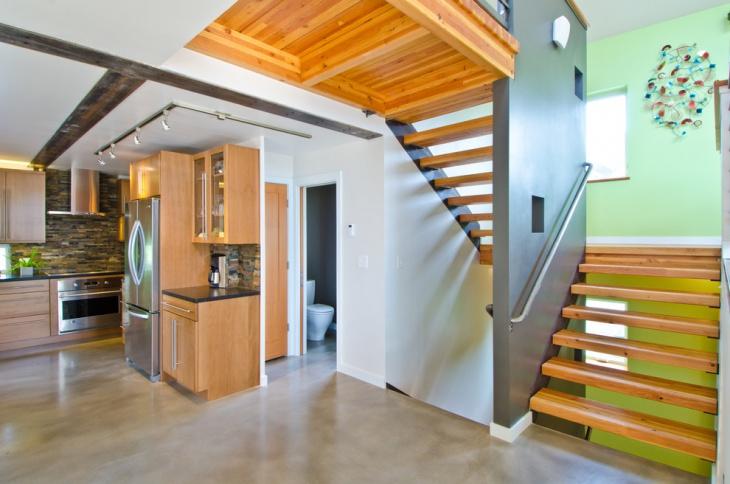 residential modern staircase design
