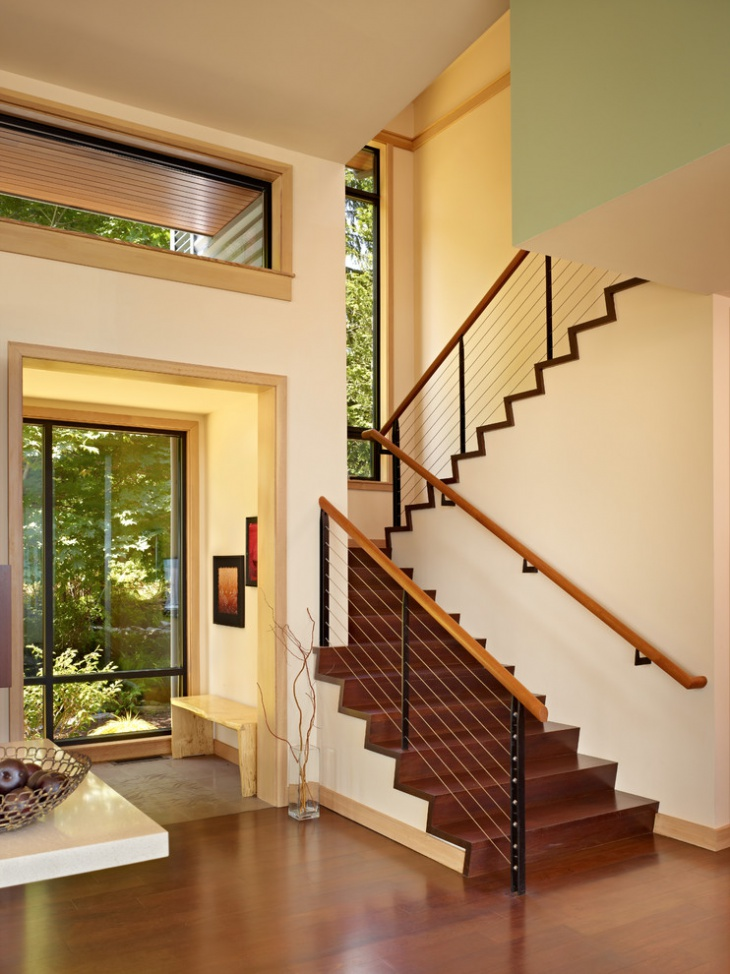 Modern Staircase Railing Design