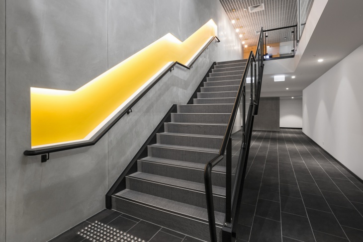 Modern Staircase Wall Design