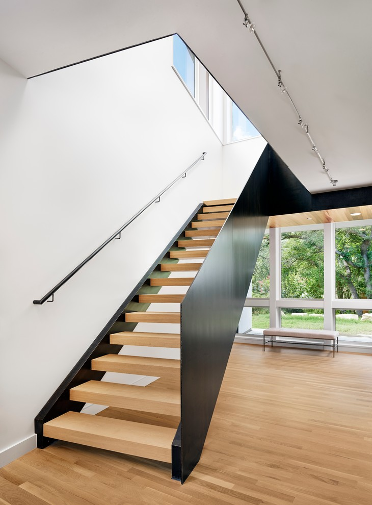 18 modern staircase designs ideas design trends for Modern house stairs