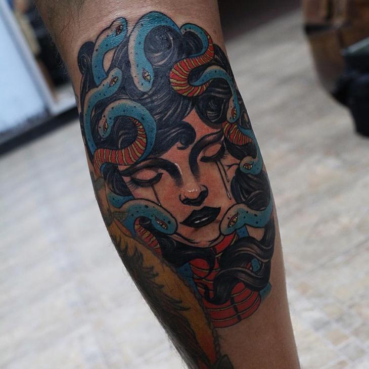 21 medusa tattoo designs ideas design trends premium - Wicked 3d tattoos ...