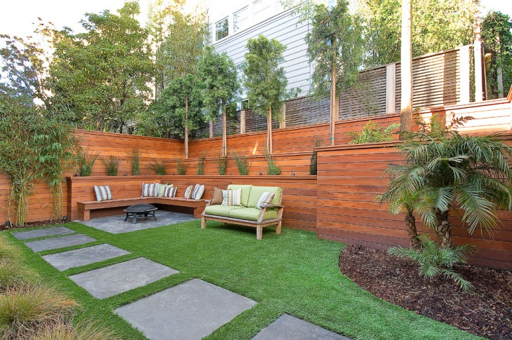 Modern Small Backyard Design