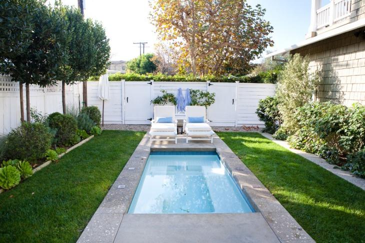 small backyard pool idea