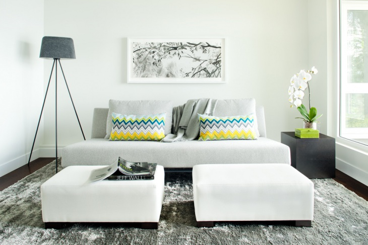 contemporary sofa for small space