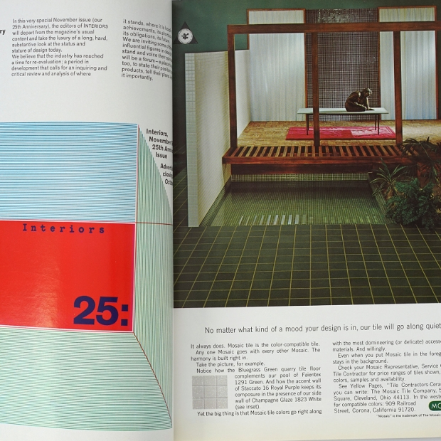 vintage interiors magazine