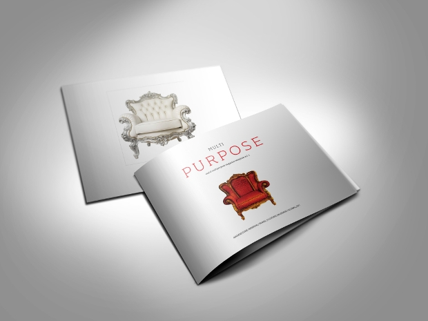 a5 interior landscape magazine template