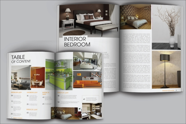 16 interior design magazines free psd eps ai indesign for Professional interior designer