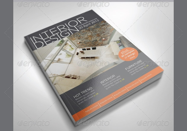 a4 interior magazine design