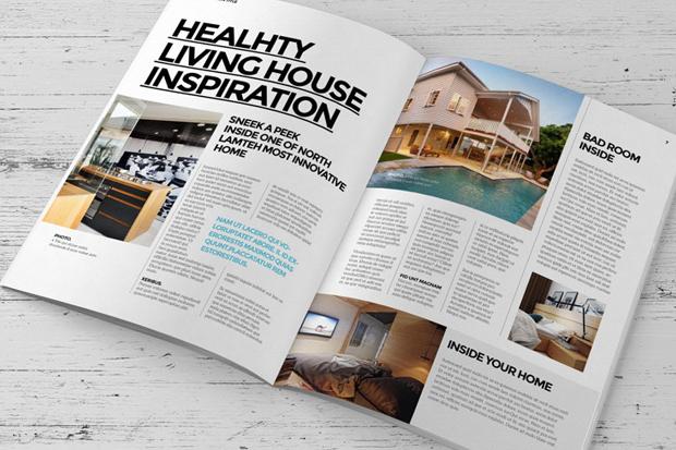 InDesign Interior Decorating Magazine