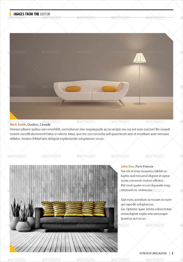small interior design magazine1